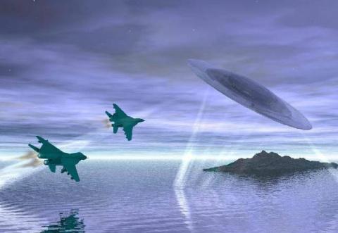 Нападение НЛО на российские …