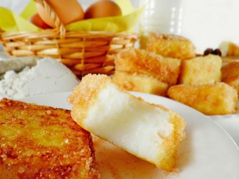 Жареное молоко — изысканный десерт для уютного вечера