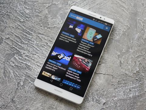 Обзор смартфона Huawei Mate 8