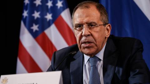 Лавров провел встречу с постпредом Сирии при ООН в Нью-Йорке