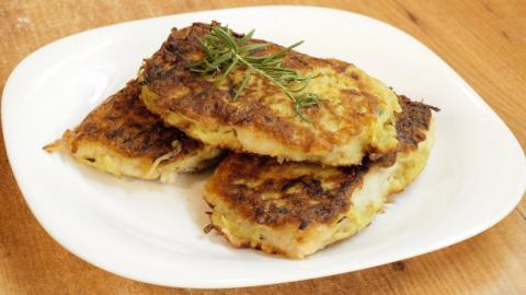 Рыба в картофельной корочке - видео рецепт