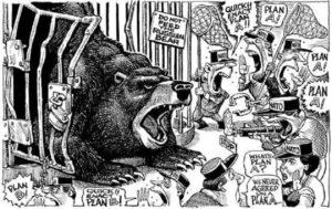 «Русский медведь» — за 100 лет пропаганда США не придумала ничего нового