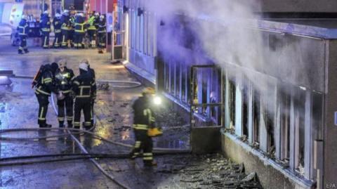 Швеция против исламизации – неизвестные подожгли мечеть