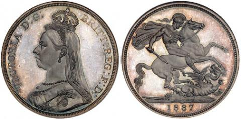 Британские кроны 1818 - 1965 гг