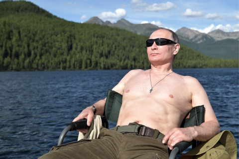 Полная версия видео отдыха Путина в Сибири опубликована на сайте Кремля