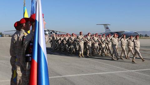 """Песков ответил пословицей на заявление США о """"победе"""" в Сирии"""