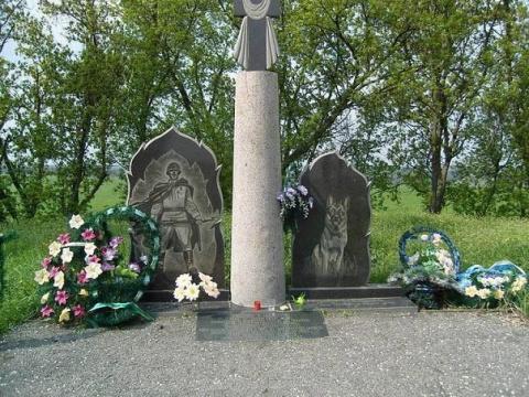 Памятник 150 пограничным псам, которые «порвали» полк фашистов в рукопашном бою...