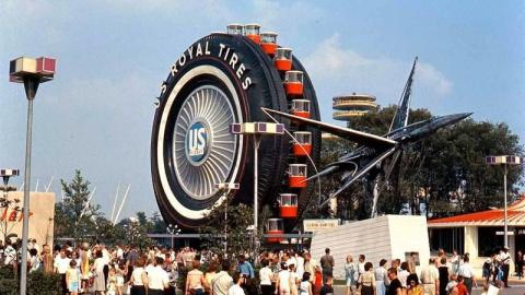 Самые большие шины в мире