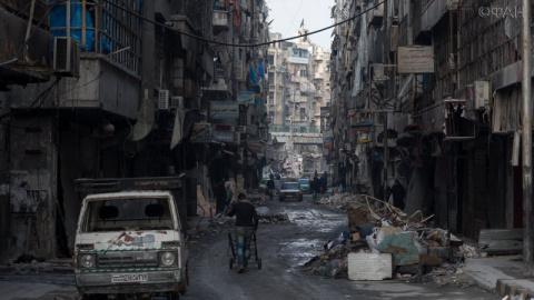 В Алеппо идут строительные и…