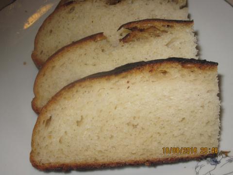 Хлеб по - нормандски.