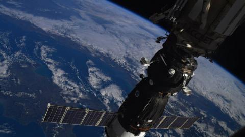 Российский космонавт устроил…
