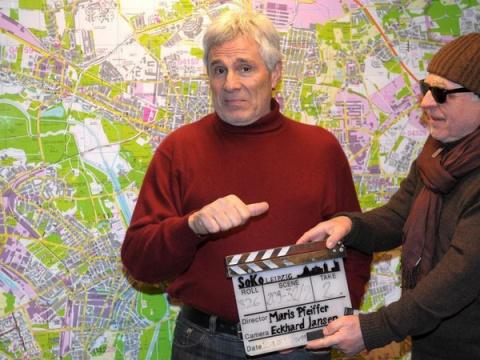 Гойко на съемках фильма (2011)