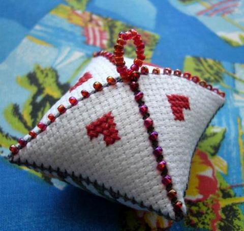 Мастер-класс — вышиваем зигугу (схемы)