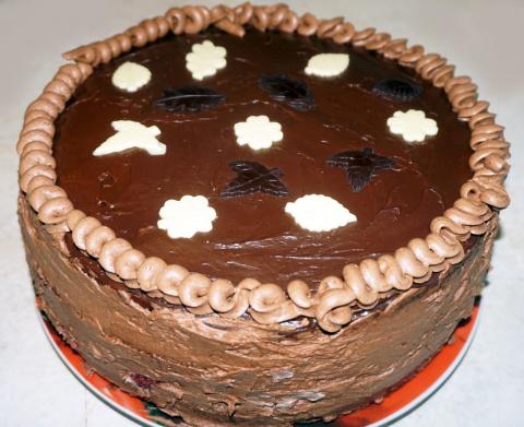 Торт на мужнюю Днюху