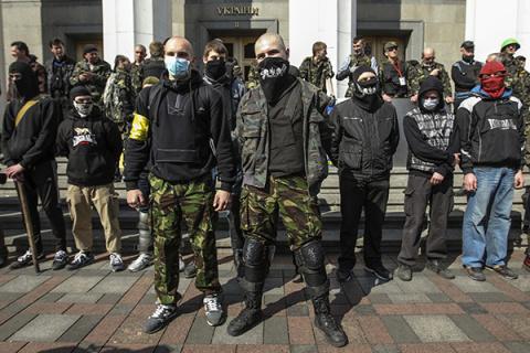 Украинские радикалы заявили …