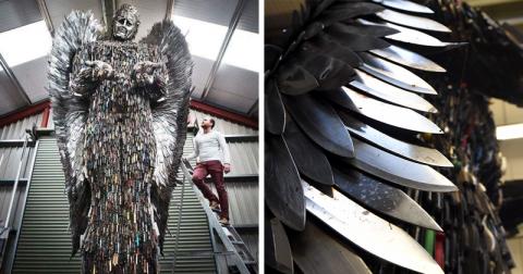 Ангел из 100 тысяч ножей от …