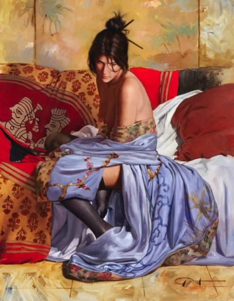 Прекрасные испанки кисти художника GABRIEL PICART