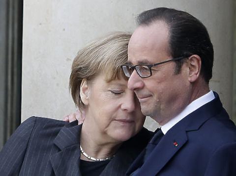 Олланд и Меркель не нашли по…