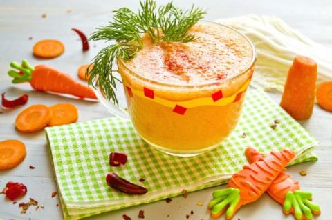 Безалкогольные напитки. Коктейль с похмелья — овощной смузи