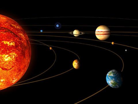 В Солнечную систему засосало…