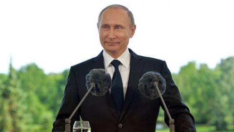 В. Путин посоветовал горячим…