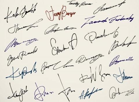 Тайны подписи. Ваша подпись …