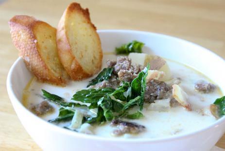 ДЕНЬ ПЕРВОГО БЛЮДА. Тосканский суп (вып. 1)