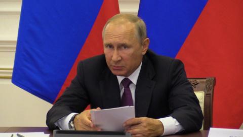 Путин сравнил поведение ряда…