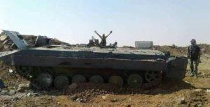 «Кровавое месиво» — появились снимки из Хамы, показывающие провал наступления боевиков