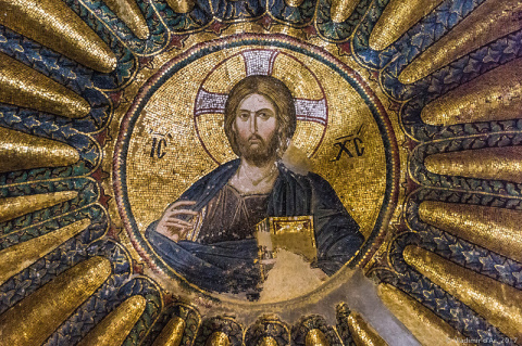 Мозаики и фрески Хоры. Нарте…