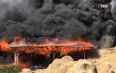 Пожар в Перу уничтожил фреск…