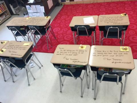 5-классники готовились к экз…