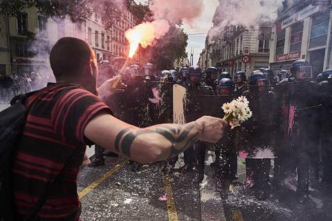 Французские беспорядки