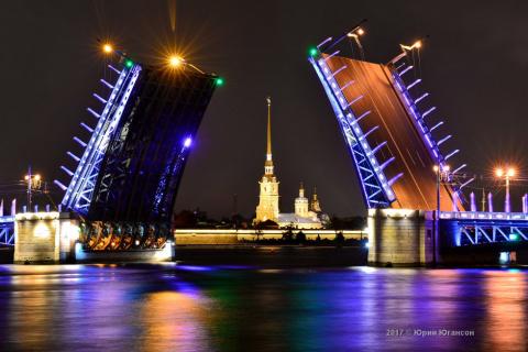Волшебная красота мостов Петербурга