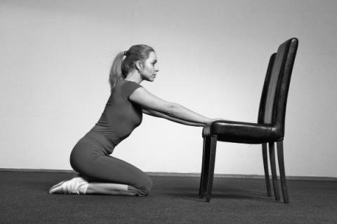 Даосская практика - ходьба на коленях. Улучшит зрение, укрепит кости, волосы и зубы