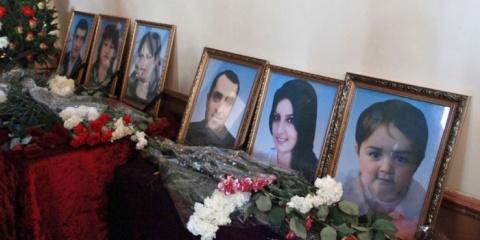 Родственники убитой в Гюмри …