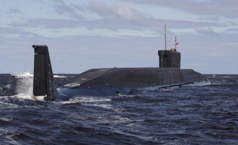 Ракетный подводный крейсер «…