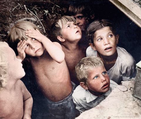 Их детство накрыли фашистские бомбы