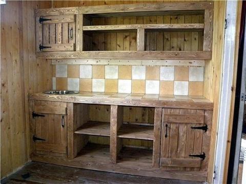 Кухня на дачу своими руками