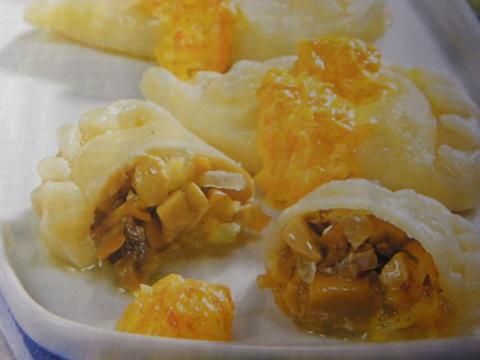 Рецепты по четвергам. Клёцки, ньокки, галушки, вареники. Вареники с грибами (1)