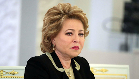 Матвиенко получила обращение от Ким Чен Ына