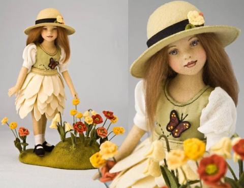 Войлочные куклы от Maggie Ma…