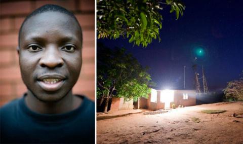 14-летний подросток из Африки использовал кучу мусора, чтобы осветить свою деревню