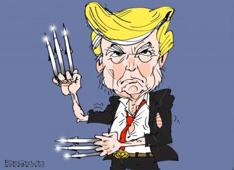 """Трамп : """"Теперь я буду действовать с Россией"""""""