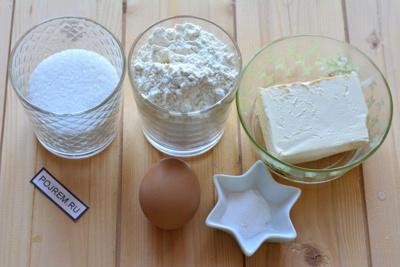 Рецепт: печенье на маргарине