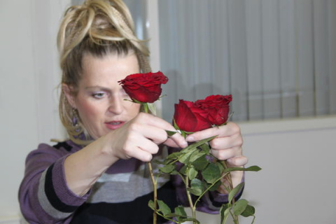 Мастер-класс по укоренению черенка от розы из букета