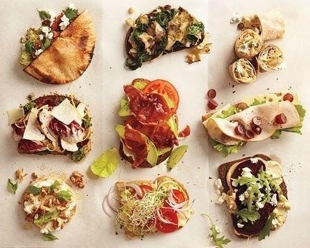 Невероятно вкусные бутерброды для стройной фигуры
