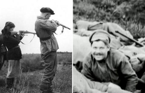 Русский солдат-большевик, мужеством которого восхищался президент Америки