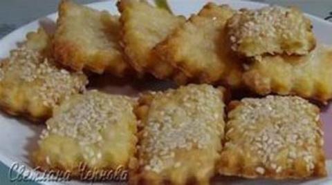 Очень вкусное печенье «Минутка»
