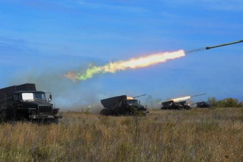"""В Оренбуржье артиллеристы """"у…"""